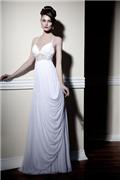 תמונות של שמלות כלה רומן בלבן - המעצבת ארנה
