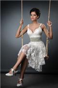 תמונות של שמלות כלה קו לבן