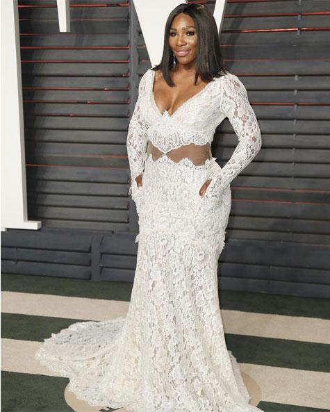 סרינה ווילאמס בשמלה בעיצובה של גליה להב