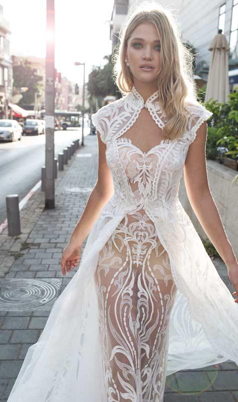 שמלת תחרה