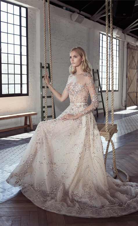 שמלת כלה נסיכותית 2017