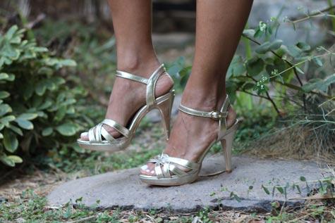 נעלי כלה כסופות