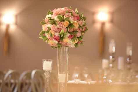 עיצוב חתונה רומנטי