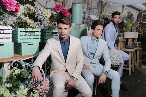 חליפות חתן בצבעי פסטל