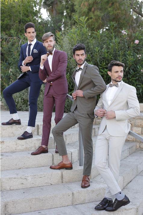 חליפות חתן בשלל צבעים