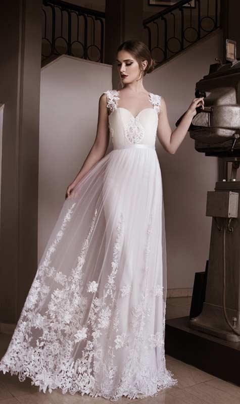 שמלת כלה נשית ורכה