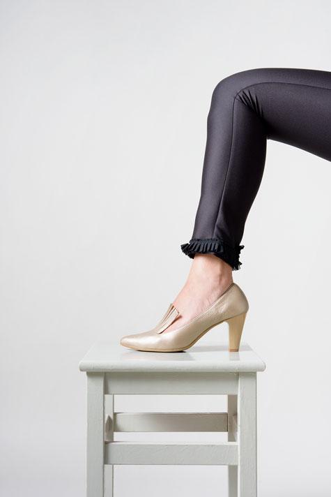 נעלי כלה  עם פרנזים