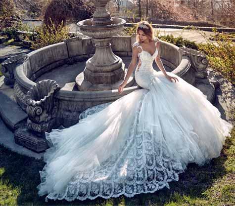 שמלת כלה באורך בלתי נגמר