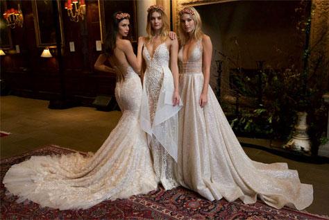 שמלות כלה בעיצובה של ברטה