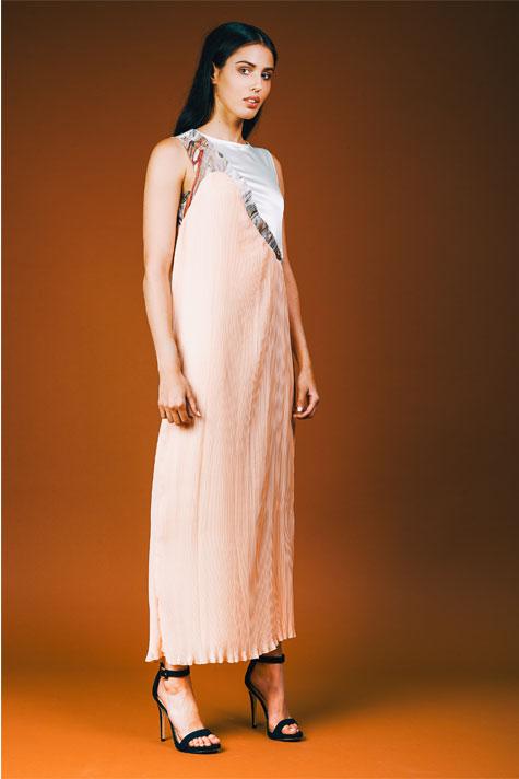 שמלת ערב בקו הגוף