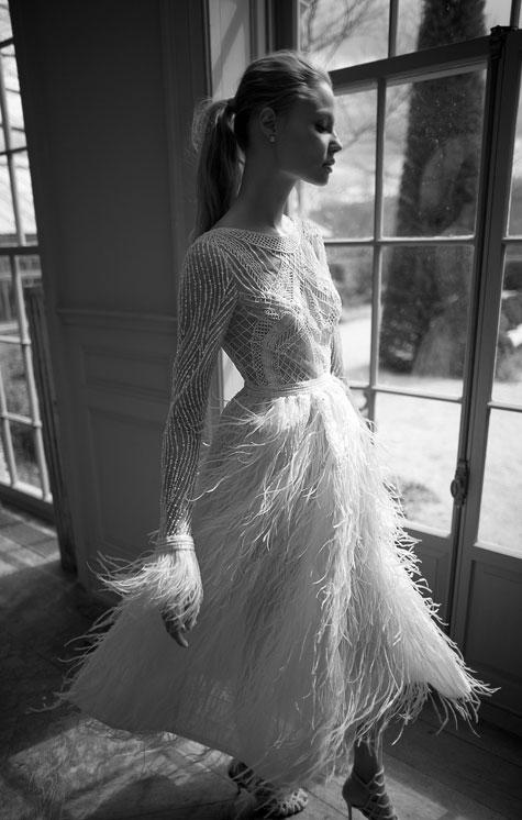 שמלת כלה שובבה ומיוחדת