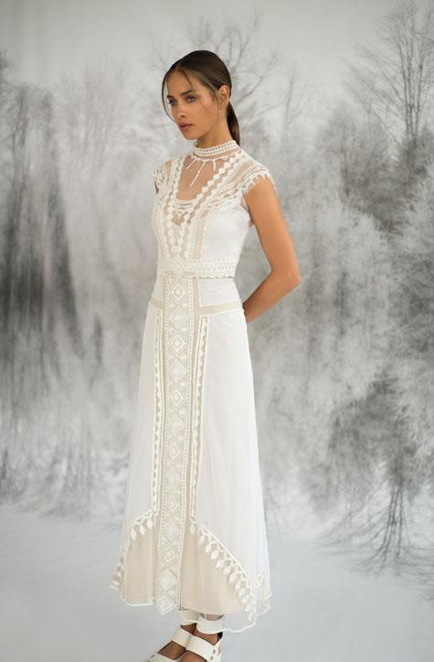 שמלת כלה עם אמירה אישית