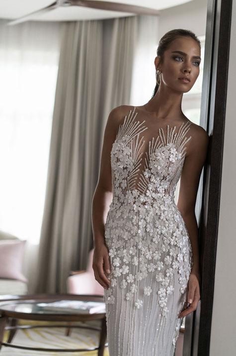 שמלת כלה עם נוכחות ייחודית