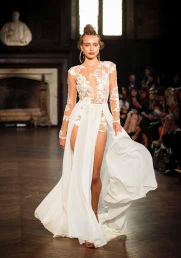 שבוע האופנה בניו יורק: שמלות כלה 2017