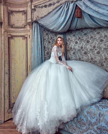 שמלות כלה מחצר המלוכה