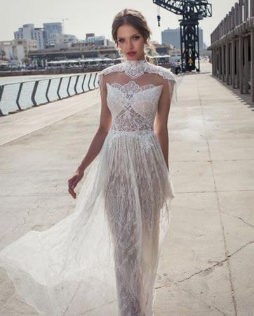 הטרנד השולט: שמלות כלה צנועות...