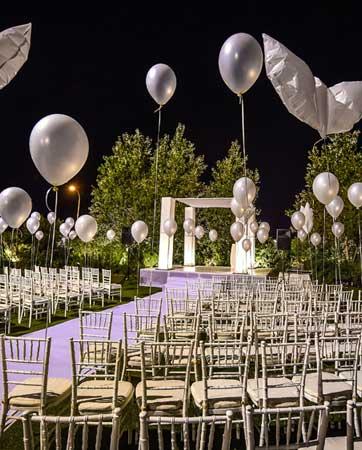 4 גני אירועים לחתונה באזור השרון